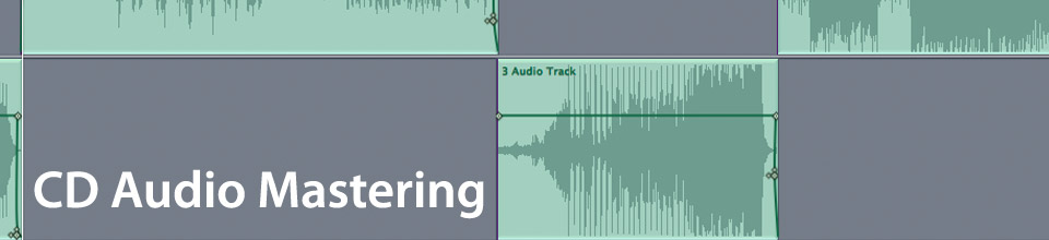 CD Audio Mastering